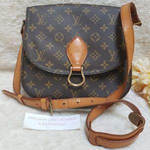 Louis Vuitton Saint Cloud GM Shoulder Bag Monogram